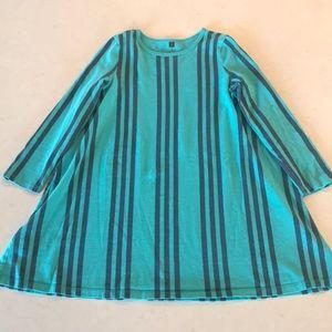 EUC Girl's Tea Collection Stripe Dress Size 8
